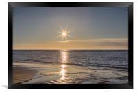 Ainsdale Beach Sunset, Framed Print
