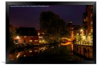 Night by the River, Framed Print