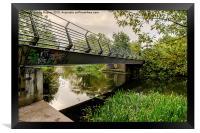 Bridge to the City, Framed Print