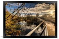 Half Way Bridge, Framed Print