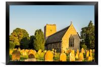Salhouse Church, Framed Print