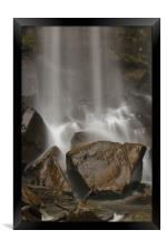 Rocks n Water., Framed Print