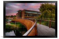 Jarrold Bridge at Twilight, Framed Print