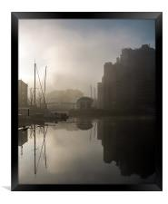 Foggy Morning, Framed Print