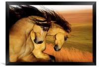 The Buckskins, Framed Print