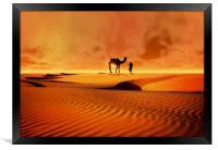 The Bedouin, Framed Print
