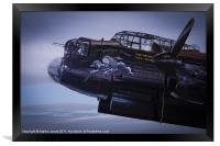 Lancaster, Phantom of the Ruhr, Framed Print