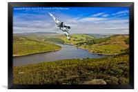 Olympus Thunder over the Bower, Framed Print