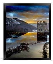 Winter comes to Howden, Framed Print