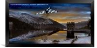 Vulcan Thunder over Howden, Framed Print