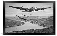 617 Squadron Homeward Bound, Framed Print