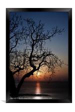 Sundown, Framed Print