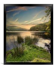 Towards Derwent, Framed Print