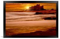 Harkess Rocks at Sunrise, Framed Print