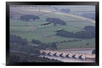 Lancasters in the Valley once Again, Framed Print