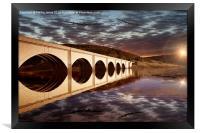 Lancasters over the Bridge, Framed Print