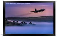 Vulcan Thunder in the Peaks, Framed Print
