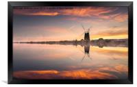 A Time to Reflect, Framed Print