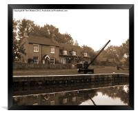 The Lock Keepers Cottage, Framed Print