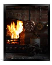 Fire Place, Framed Print