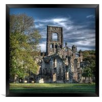 Kirkstall Abbey, Framed Print