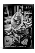 His Master's Voice, Framed Print