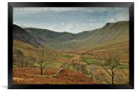 Riggendale, Cumbria, Framed Print