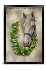 Horse 1, Framed Print