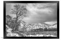 Path to Patterdale, Framed Print