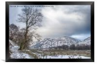 Path to Patterdale 2, Framed Print