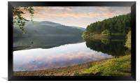 Derwent Dawn, Framed Print