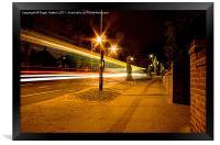 Light Speed, Framed Print