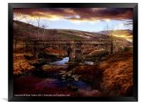 Packhorse Bridge, Framed Print