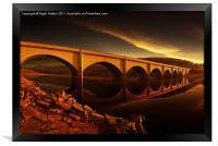 Ashopton Sun Rise, Framed Print
