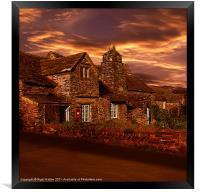 Evening Glow, Framed Print
