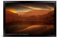 Howden Sun Down, Framed Print
