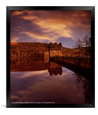Howden Reflections, Framed Print