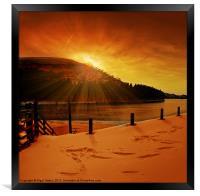 Howden Sun Burst, Framed Print