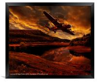 Lancaster's Return, Framed Print