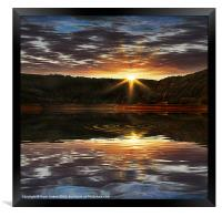 End of the Day, Framed Print