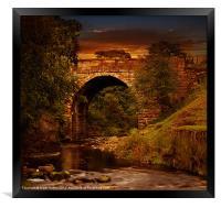 Alport Bridge, Framed Print