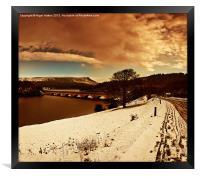 My Valley, Framed Print