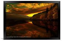 Derwent Glow, Framed Print