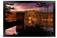 Howden Sunrise, Framed Print
