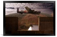 Avro Lancaster Mk1, Framed Print