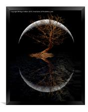 Rising Moon, Framed Print