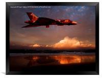 Vulcan at Sunset, Framed Print