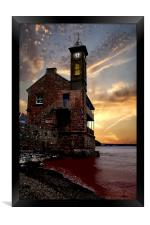 The Clock Tower, Framed Print