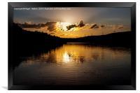 Underbank Reservoir, Framed Print