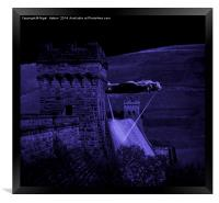 Lancaster Lights, Framed Print